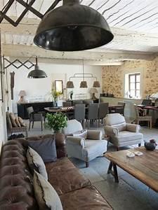Deco Melange Rustique Et Moderne : salon d co style industriel en quelques exemples ~ Melissatoandfro.com Idées de Décoration