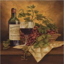 italian wine grapes i kitchen decor square coaster set of 4