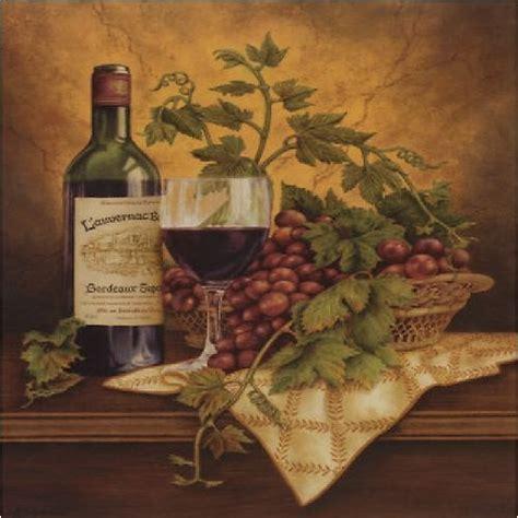 Wine And Grape Decor For Kitchen by Italian Wine Grapes I Kitchen Decor Square Coaster Set Of 4