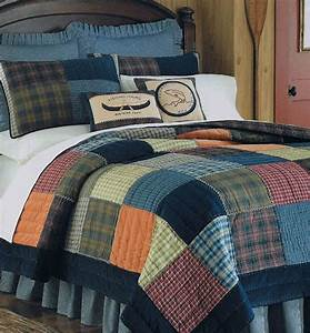 Northern Plaid Quilt Bedding By CF Enterprises