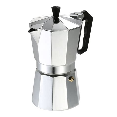 These are very easy to use once you. Aluminum Coffee Pot 3Cup/6Cup/9Cup/12Cup Coffee Maker Espresso Percolator Stovetop Mocha Pot ...
