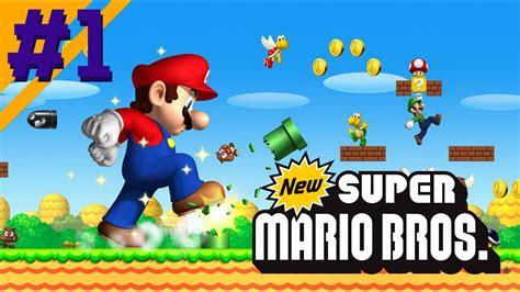 New Super Mario Bros O InÍcio Nintendo Ds Gameplay