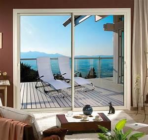 Dimension Baie Coulissante 2 Vantaux : fpee alu ~ Melissatoandfro.com Idées de Décoration