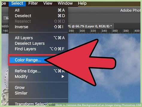 Photoshop Delete Background How To Remove The Background Of An Image Using Photoshop Cs6