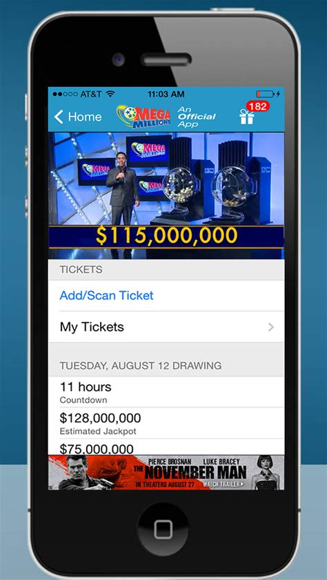 scan lottery tickets at home powerball and mega millions official app lotteryhub