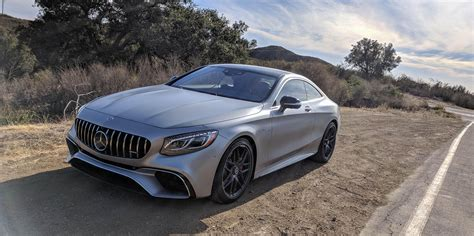 First Drive 2018 Mercedesbenz Sclass Coupe And