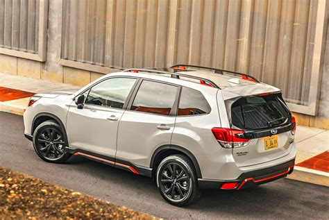 subaru forester review practical capable  boxy