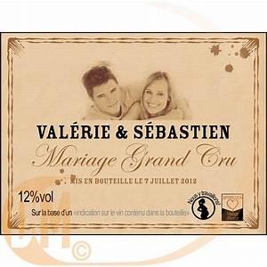 Etiquette Champagne Mariage : tiquette personnalise shabby discount mariage achat etiquette de bouteille ~ Teatrodelosmanantiales.com Idées de Décoration