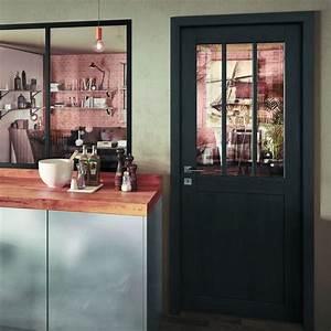 atelier porte d39interieur style verriere With porte de garage et porte intérieure type atelier
