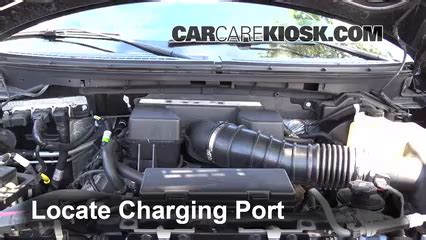 automotive air conditioning repair 2009 ford edge transmission control how to add refrigerant to a 2009 2014 ford f 150 2010 ford f 150 svt raptor 6 2l v8