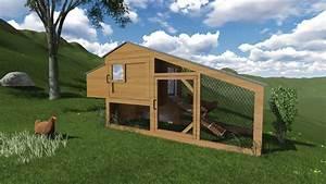 Construire Un Poulailler En Bois : plan poulailler heili ~ Melissatoandfro.com Idées de Décoration