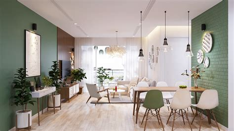 Modern Scandinavian Style Home Design For Young Families