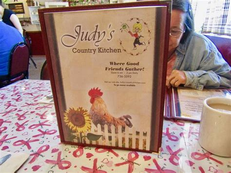 judy s country kitchen menu picture of judys country kitchen restaurant 4200