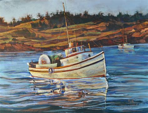 Fishing For Life Boat Auction by Historic Boat Painting Unveiled Steven Hill Fine