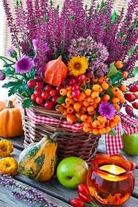 Herbst Dekoration Tisch : dekorieren im herbst mit materialien aus der natur ~ Frokenaadalensverden.com Haus und Dekorationen