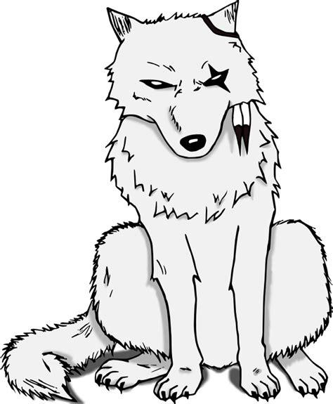 dessin de loup assis comment dessiner un loup coloriages