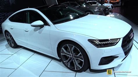 2019 Audi A7 Frankfurt Auto Show by 2019 Audi A7 55 Tfsi Exterior And Interior Walkaround