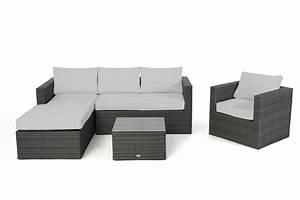 polsterbezug passend zu rattan lounge rechts galicia With französischer balkon mit rattanmöbel garten grau