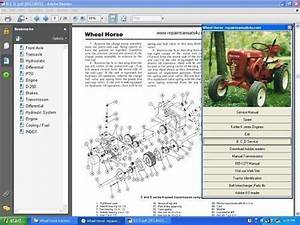 Wheel Horse Tractor Hydrostatic Transmission Service Manual