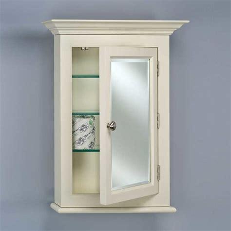 Afina Venetian Medicine Cabinet by Afina Wilshire 22 Quot Semi Recessed Mirrored Medicine Cabinet
