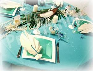 Mariage Theme Mer : decoration table ile ~ Nature-et-papiers.com Idées de Décoration