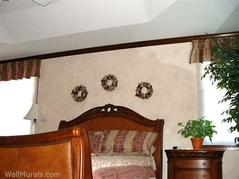 faux wall finishes examples  hand painted wall treatments