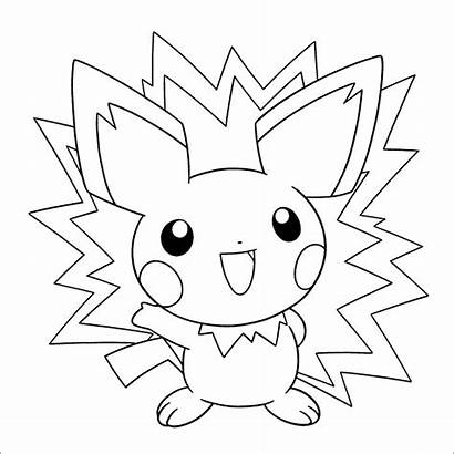 Pokemon Coloring Pages Electric Printable Getcolorings