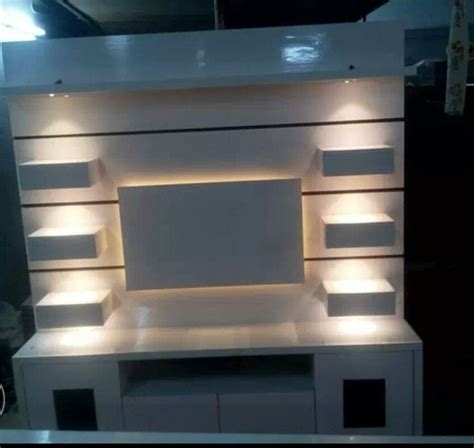 wall tv unit with led lights at rs 14500 piece