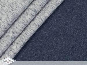 Sweat Stoff Meterware : sweat stoff vintage uni dunkelblau meliert stoffe und meterware g nstig online ~ Watch28wear.com Haus und Dekorationen