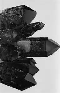 Black Smoky Quartz Crystal