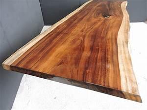 Finishing Parota Wood Slab – Premium Wood Slabs