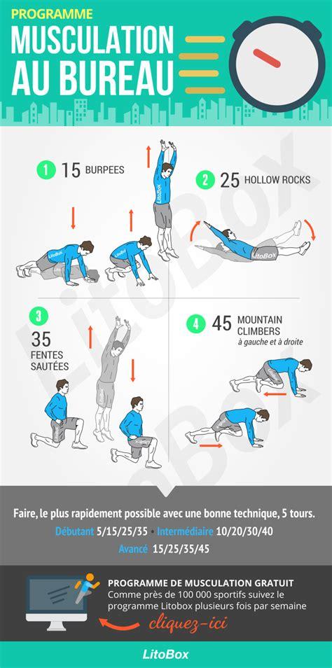 exercices au bureau musculation au bureau pdf à télécharger bureaus