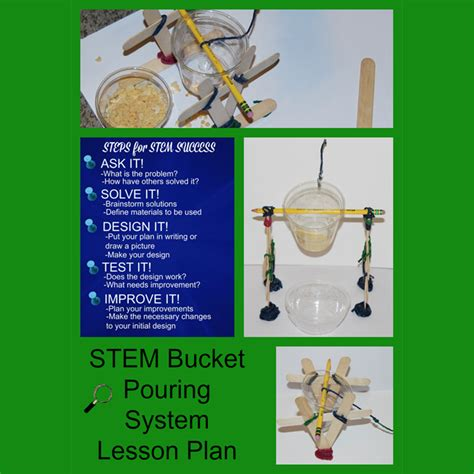 stem and steam lesson plans and examples wikki stix 165 | STEM Bucket Pouring System Lesson Plan landing