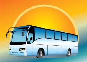 Tour Bus Clip Art