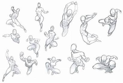 Poses Reference Drawing Pose Action Figure Sketch