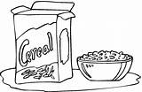 Cereal Coloring Clipart Pages Bread Print Food Freecoloringpagefun Printable Breads Colouring Bowl Visit Ads Without Only Colorpages Coloringpages Rice sketch template