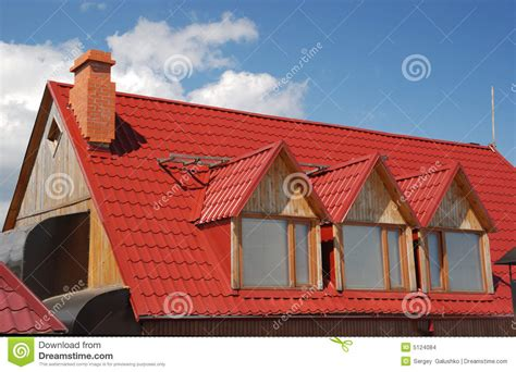 Red Roof Stock Images  Image 5124084