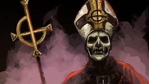 Ghost b.c. papa emeritus wallpaper | AllWallpaper.in ...