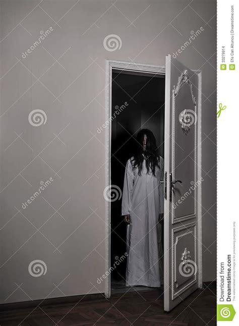 cursed horror girl stock photo image  scene creepy