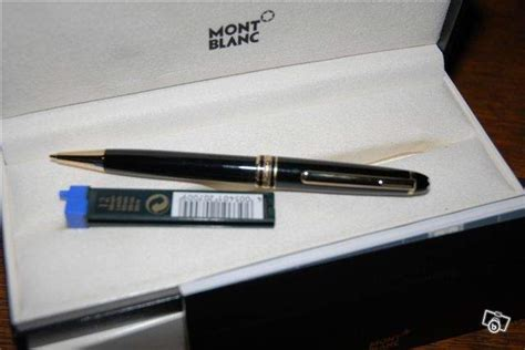 porte mine mont blanc stylo porte mine mont blanc meisterstuck collection