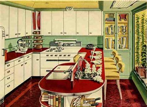 retro kitchen design ideas retro kitchen design sets and ideas