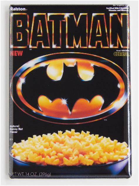 batman cereal refrigerator fridge magnet  batman
