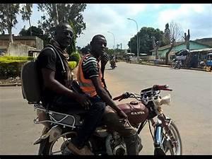Moto De Ville : une balade en moto taxi dans la ville de bouak youtube ~ Maxctalentgroup.com Avis de Voitures