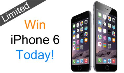 free iphone how to get a free iphone 6 for almost no survey in 2016