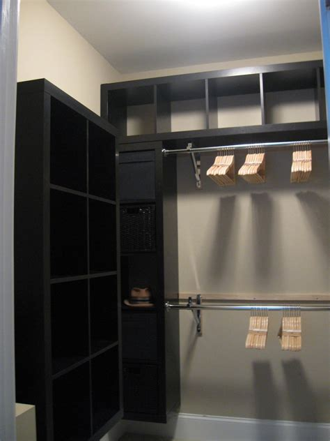 u shaped walk in closet ideas for small spaces with two