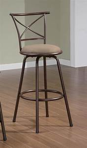 Brown, 29, U0026quot, Counter, Height, Stool, 122030, Set, Of, 2, From, Coaster, 122030