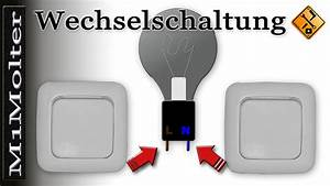 Fi Schalter Anklemmen : wechselschaltung anklemmen wie prinzip einbauanleitung von m1molter youtube ~ Whattoseeinmadrid.com Haus und Dekorationen