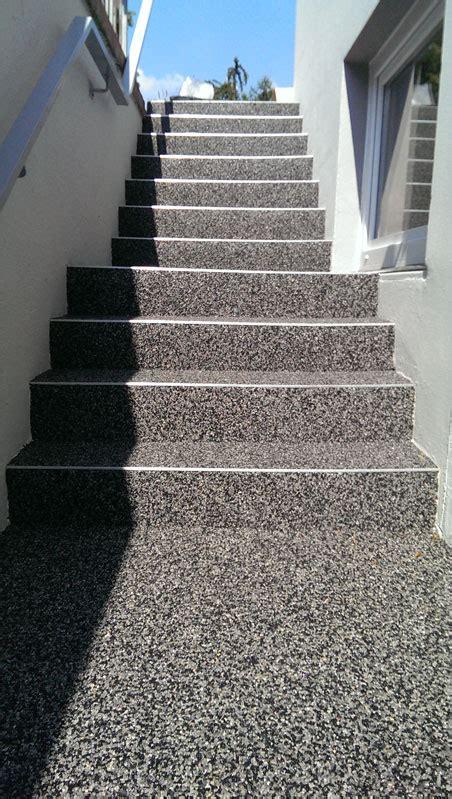 steinteppich treppe außen steinteppich in nrw fliesen thun quartz stein thun