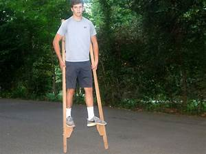 How to Make a Pair of Stilts DIY