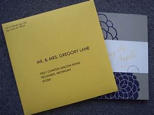 square1mailers latest happenings updates on current With wedding invitations outside envelope
